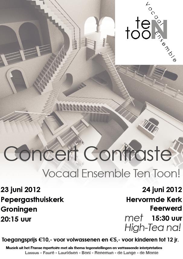 Flyer Ten Toon 2012