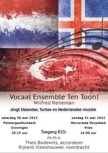 Flyer concert mei 2015