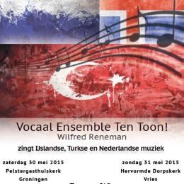 Flyer concert 30 en 31 mei